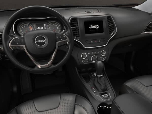 2021 Jeep Cherokee Latitude Lux Interior