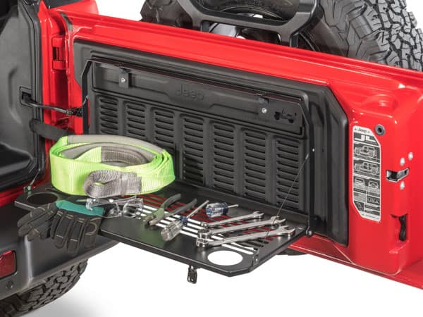Jeep Tailgate Table