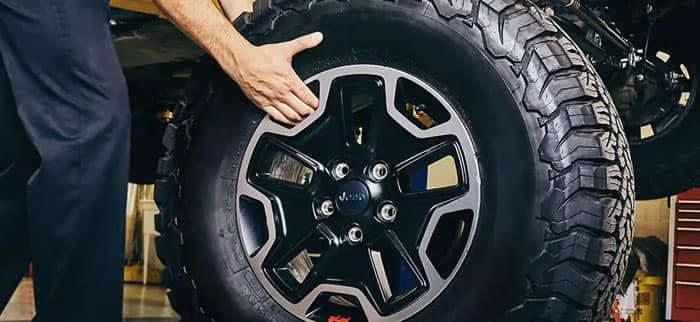 Jeep Tire Rotation
