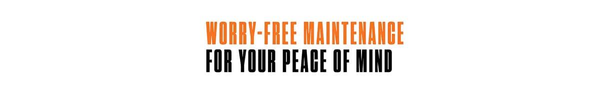 Jeep Wave Worry Free Maintenance Logo