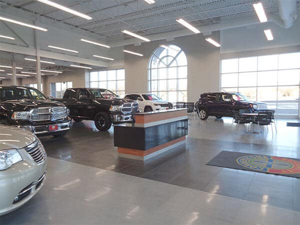 Chrysler Interior Showroom