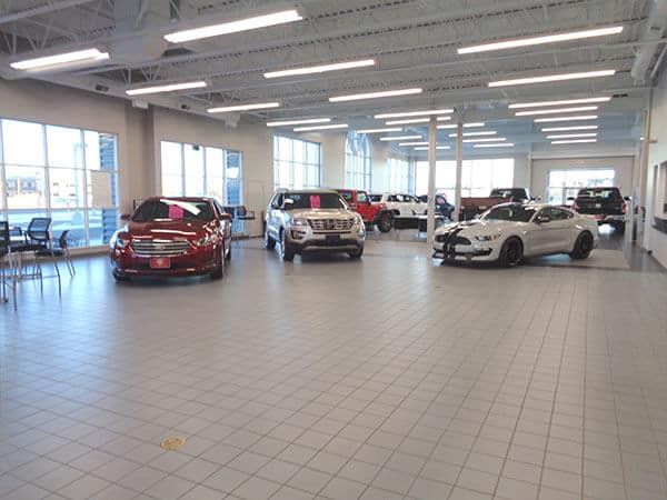 Ford Interior Showroom
