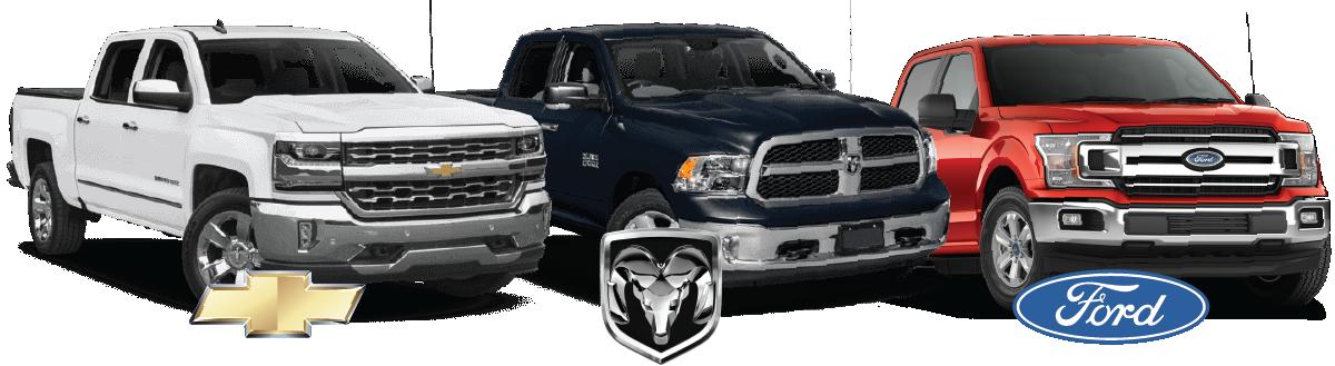 Chevy vs. Ram Vs. Ford Trucks!