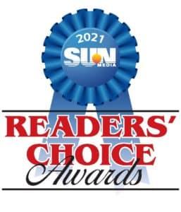 2021 Sun Readers' Choice Award