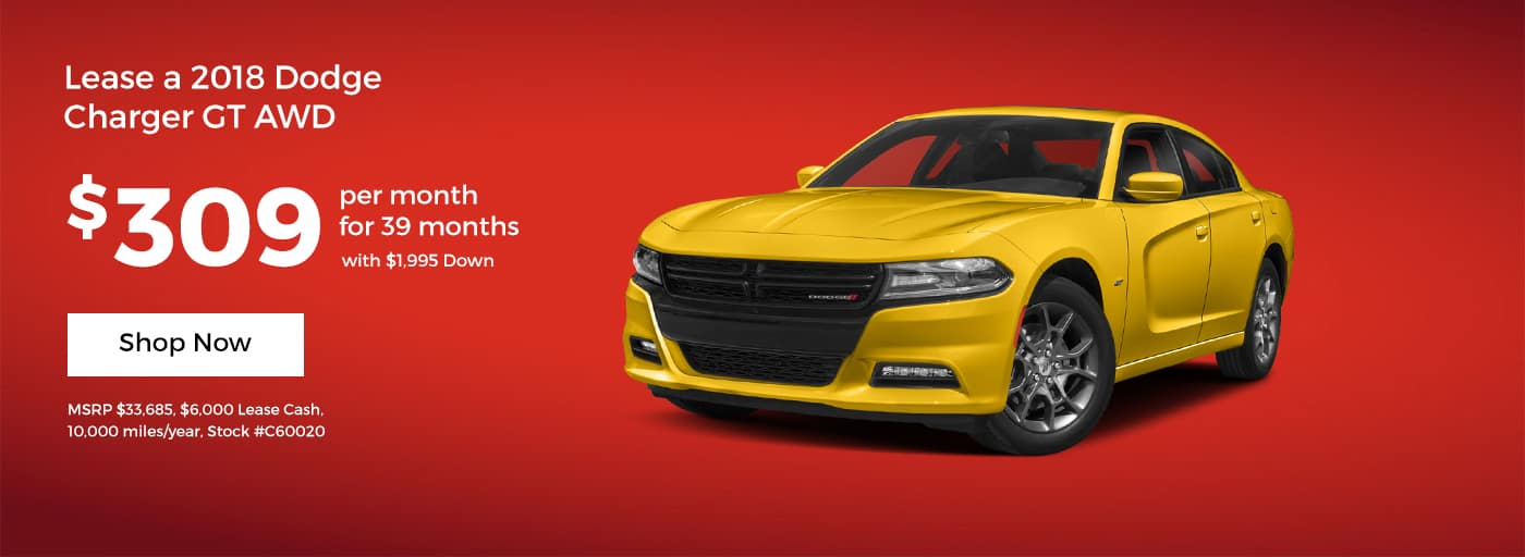 Charger GT January Offer Cornerstone CDJR