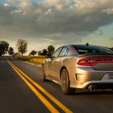 2018 Dodge Charger Driving Away