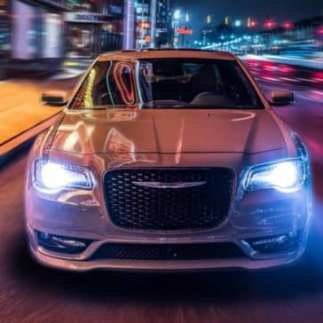 2018 Chrysler 300 Headlights in the Dark