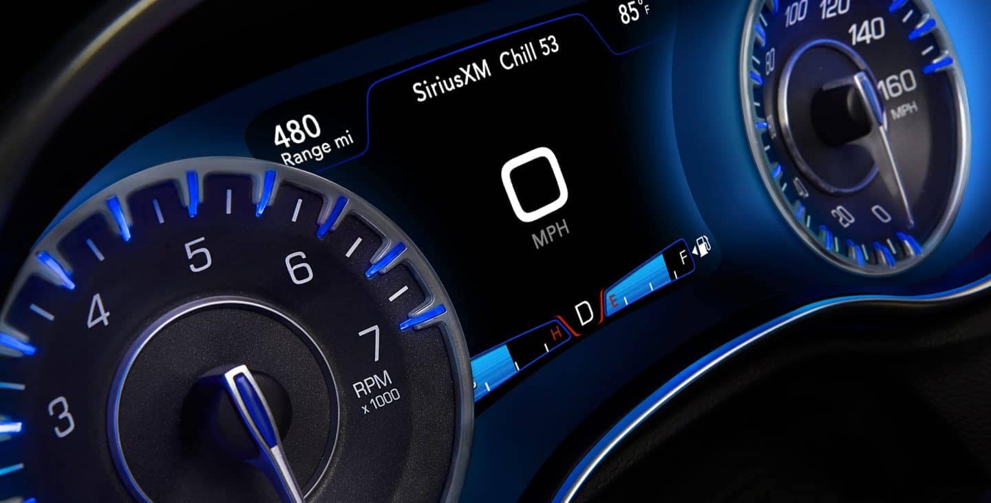 2018 Chrysler 300 Instrument panel