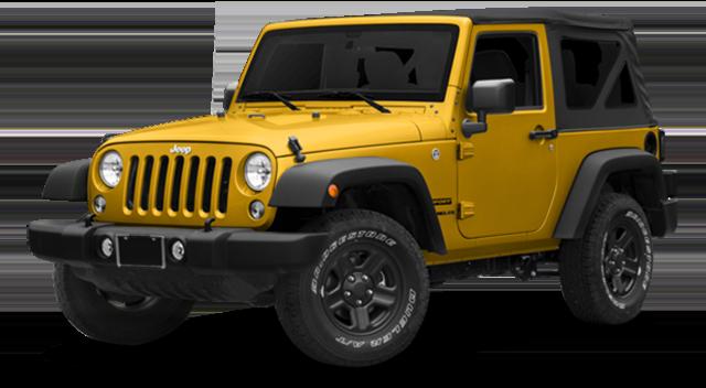 2018 Jeep Wrangler Yellow
