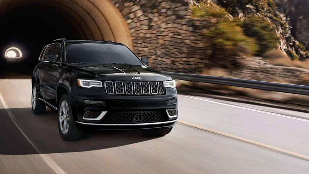 2019 Jeep Grand Cherokee exiting a tunnel