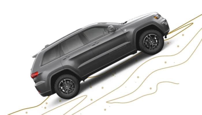 Jeep Grand Cherokee Hillside Capability