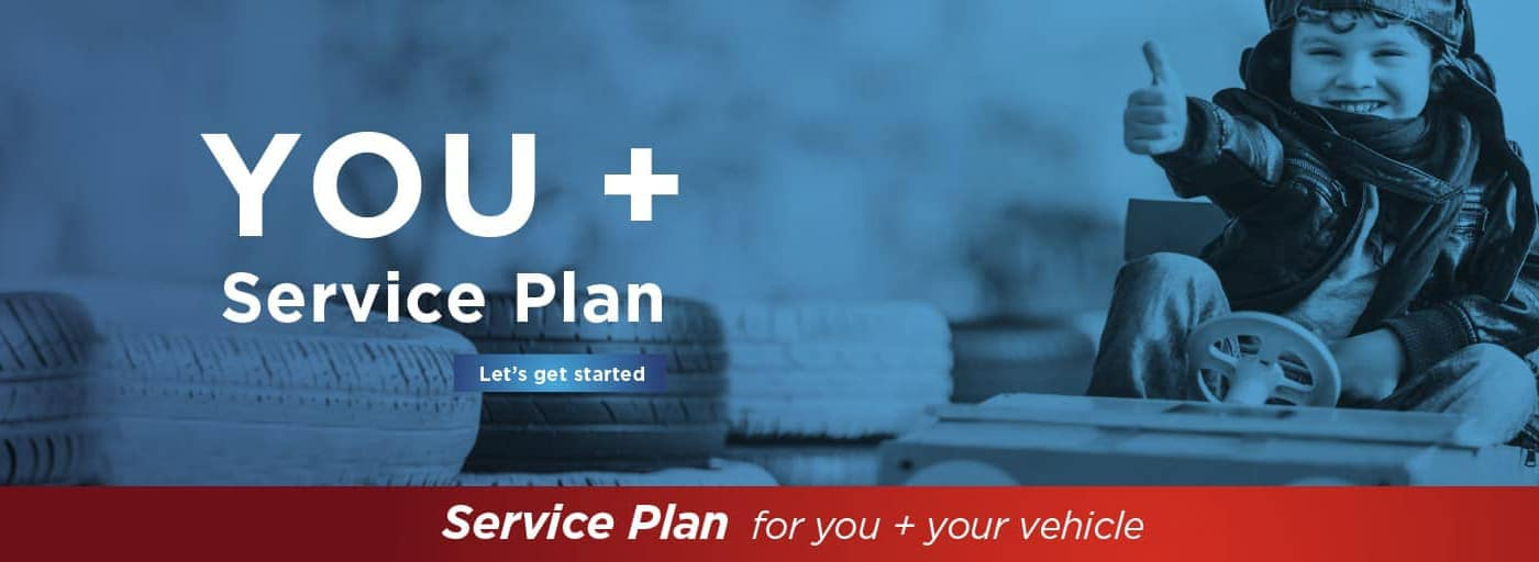 Kia You+ Service Plan Banner