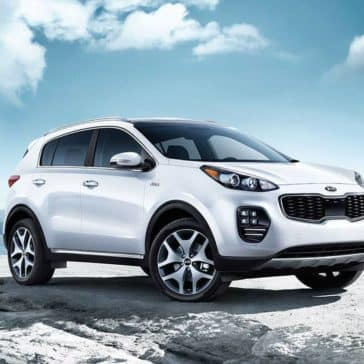 2018 Kia Sportage Snow White Mountaintop
