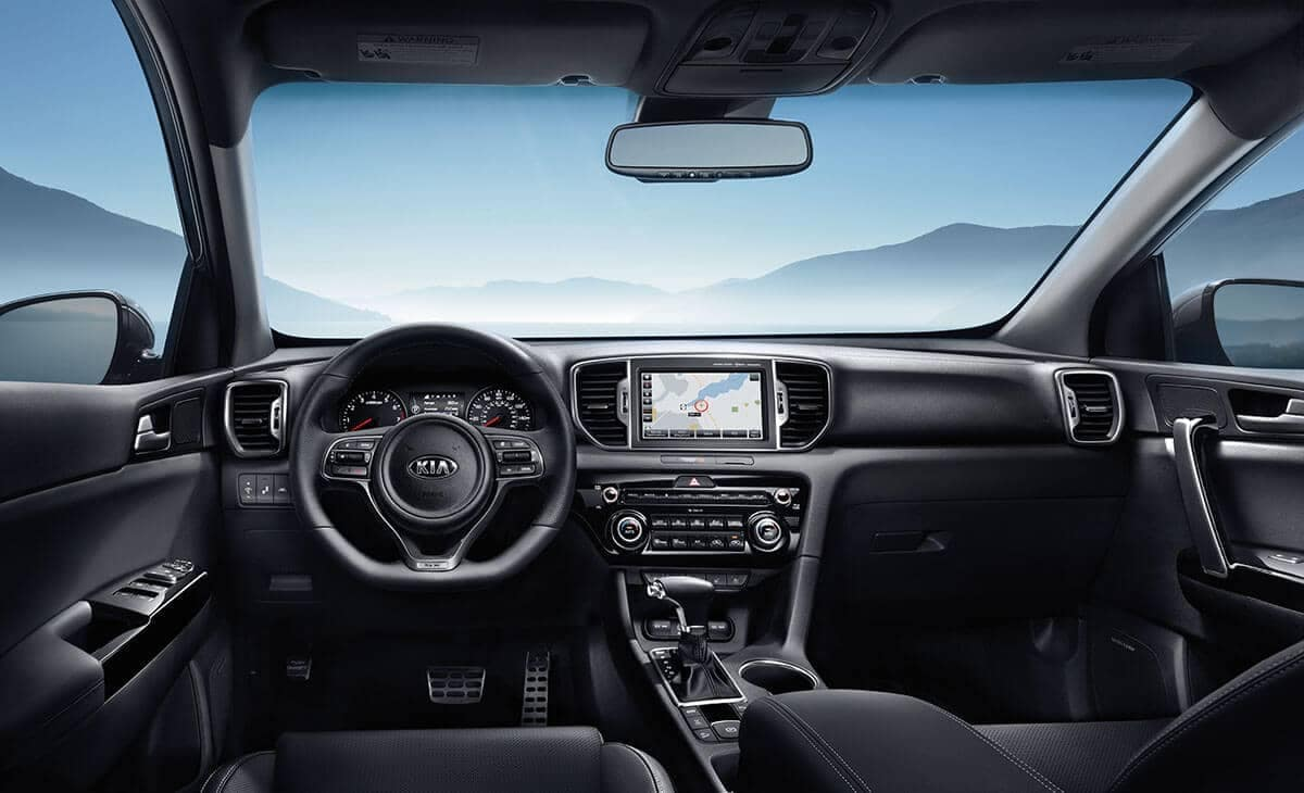 2018 Kia Sportage Interior View