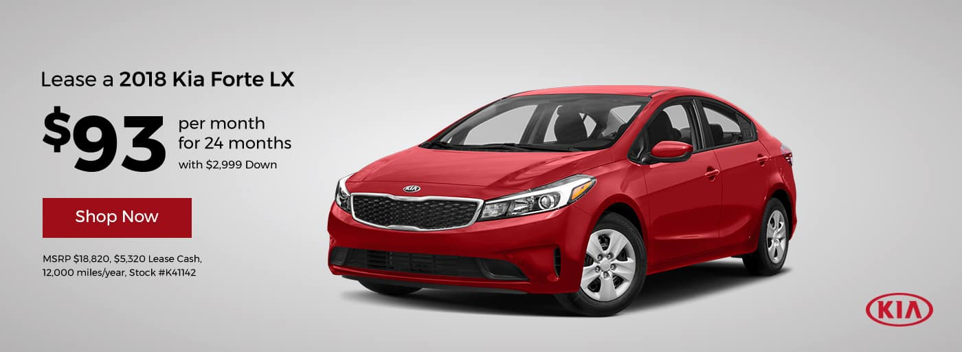Forte February Offer Cornerstone Kia