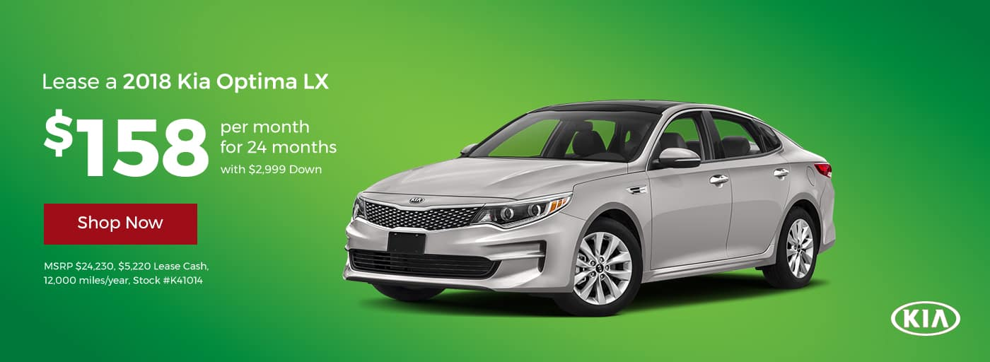 Optima February Offer Cornerstone Kia
