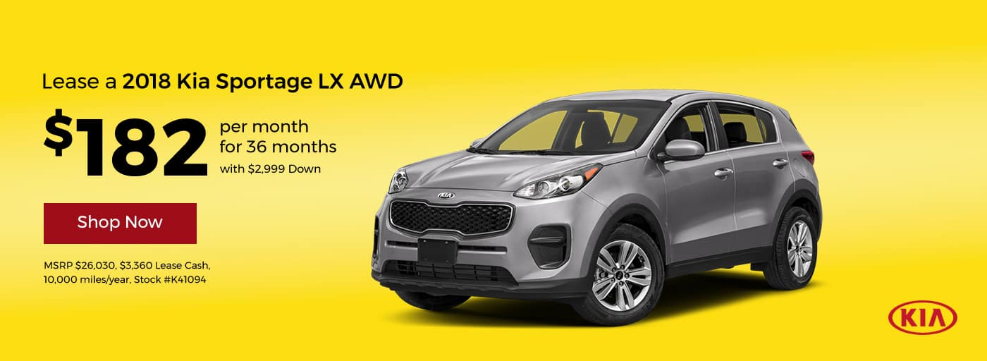 Sportage February Offer Cornerstone Kia