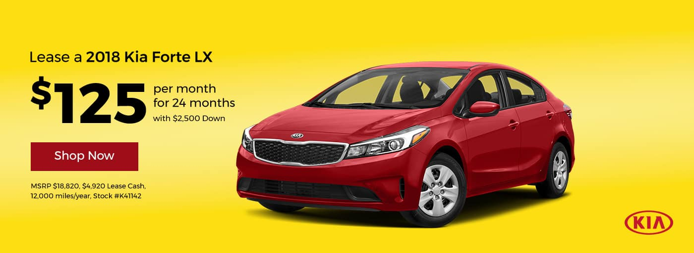 2018 Forte Lease Offer