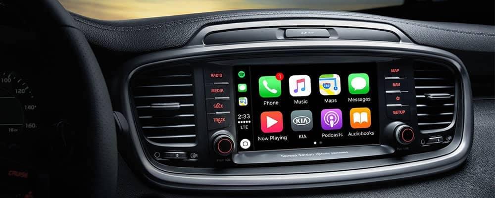 2019 Kia Sorento Apple CarPlay