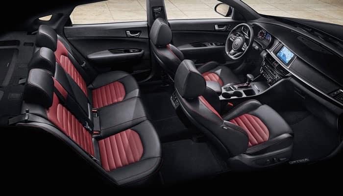 2019 Kia Optima Interior Seating