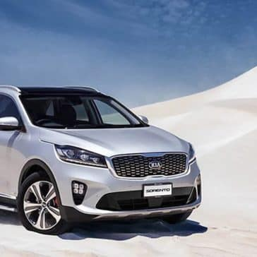 2020 Kia Sorento In The Desert
