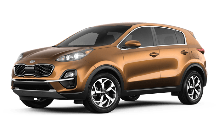 2020 Kia Sportage Orange