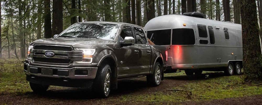 2018 Ford F-150 Towing a Camper