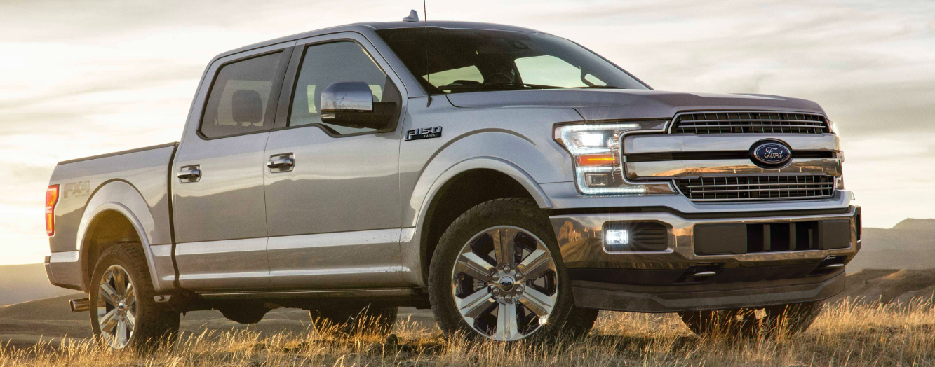 A 2019 Ford F-150 Parked in a Field