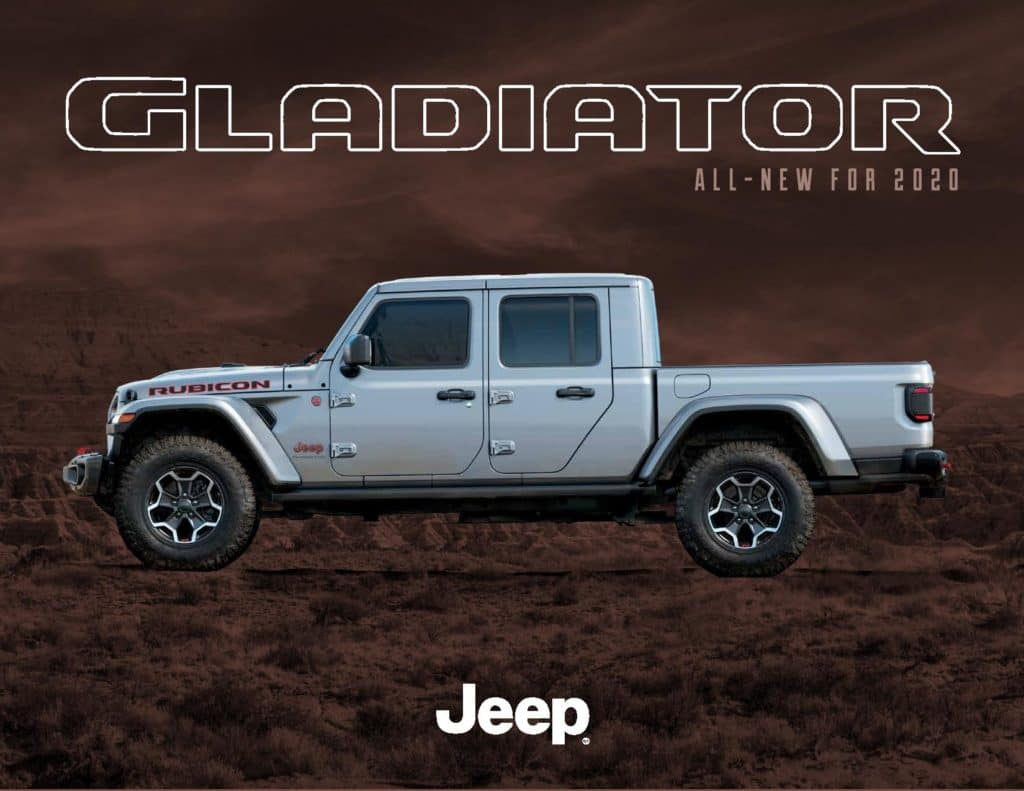 2020 Jeep Gladiator Cutter Chrysler Dodge Jeep Ram Fiat