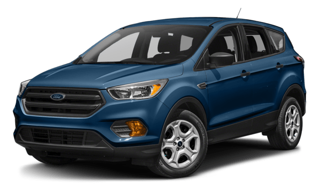 2018 Blue Ford Escape