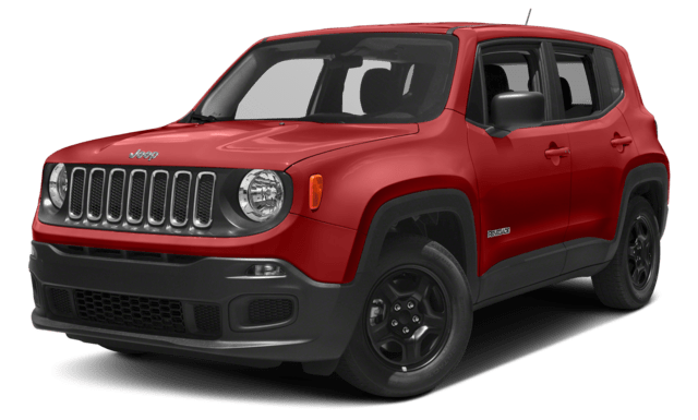 Red 2018 Jeep Renegade