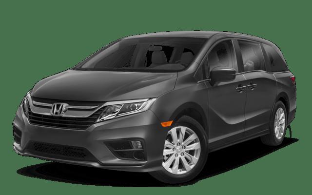 Grey Honda Odyssey