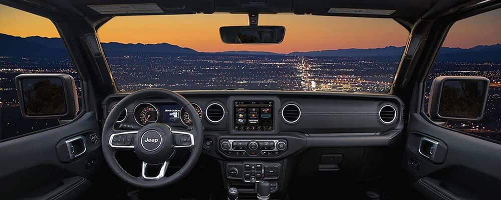 2019 Jeep Wrangler interior dashboard