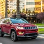 red 2021 jeep compass