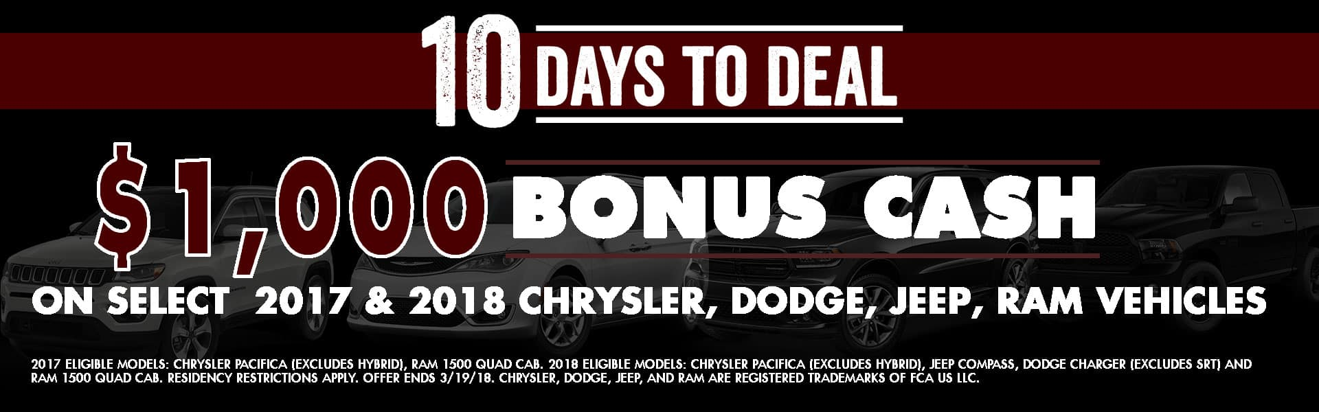 10 days to deal chrysler dodge jeep ram diehl of grove city serving butler and grove city