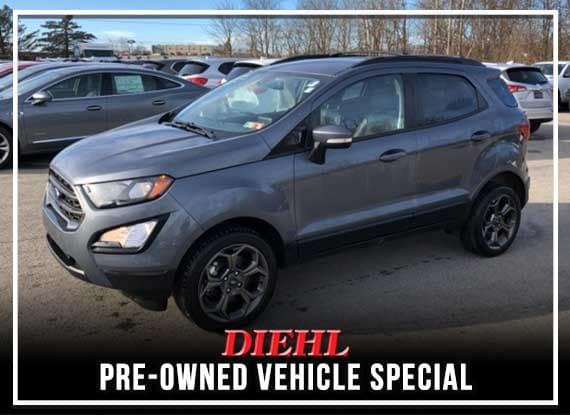 PRE-OWNED 2018 FORD ECOSPORT SES 4WD