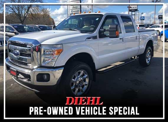 PRE-OWNED 2016 FORD F-350SD LARIAT 4WD