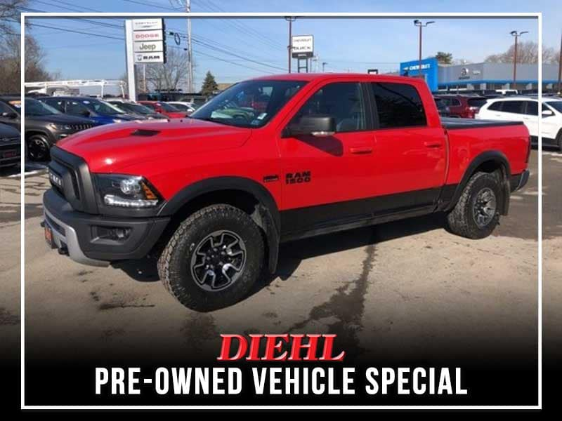 CERTIFIED PRE-OWNED 2017 RAM 1500 REBEL 4WD