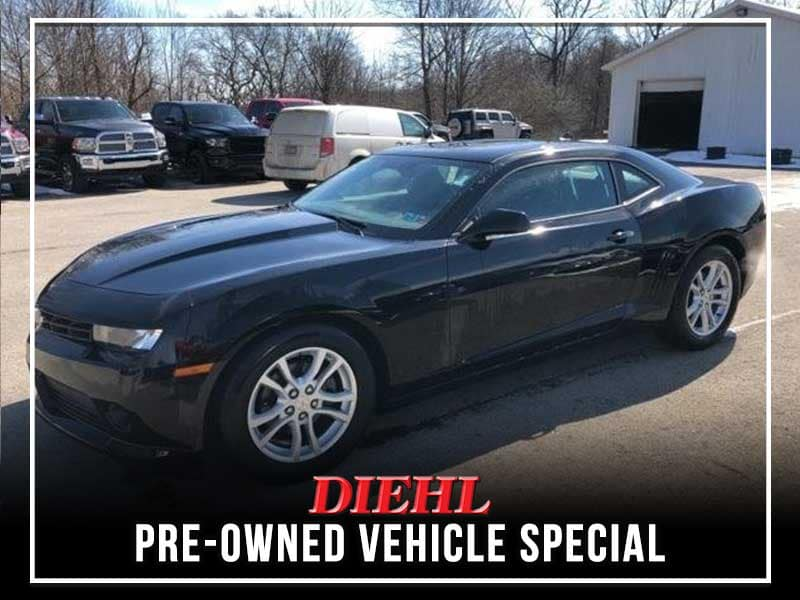 CERTIFIED PRE-OWNED 2015 CHEVROLET CAMARO 1LT RWD 2D COUPE