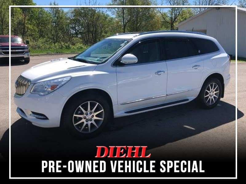 CERTIFIED PRE-OWNED 2017 BUICK ENCLAVE LEATHER GROUP AWD