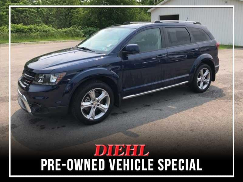 PRE-OWNED 2017 DODGE JOURNEY CROSSROAD FWD 4D SPORT UTILITY