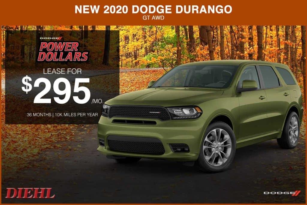 NEW 2020 DODGE DURANGO GT AWD