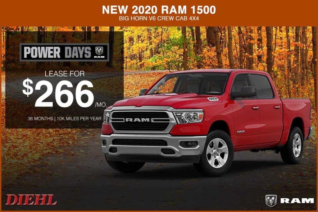NEW 2020 RAM 1500 BIG HORN V6 CREW CAB 4×4