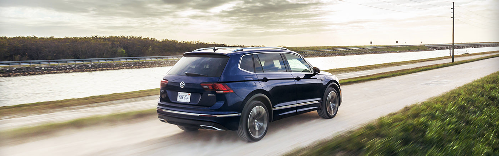 2021 VW Tiguan, the small SUV big on space, power, and innovation.