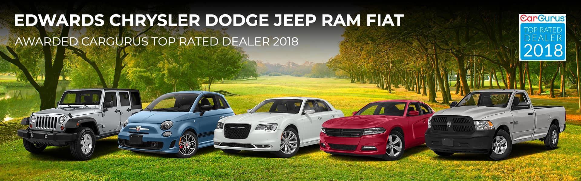 Edwards Chrysler Dodge Jeep Ram Fiat Auto Dealer Service