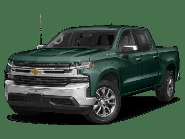 2019 Chevrolet Silverado 1500 2WD Crew Cab Work Truck green