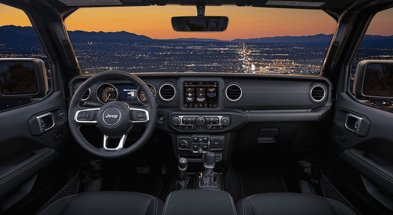 2019 Jeep Wrangler Interior dashboard