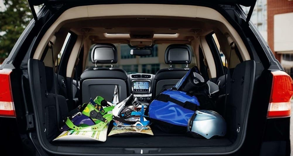 2019 Dodge Journey Crossroad interior trunk space