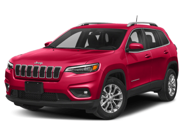 2019 Jeep Cherokee in red