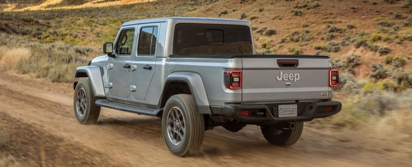 2020 Jeep Gladiator from rear